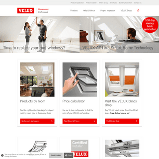 ArchiveBay.com - velux.co.uk - VELUX roof windows, flat roof windows, sun tunnels and blinds