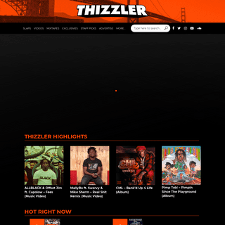 Thizzler On The Roof - The official home for Bay Area music