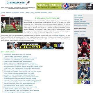 ArchiveBay.com - granfutbol.com - Fútbol - historia, reglas, tácticas, competiciones, equipos, jugadores, árbitros, cultura futbolística