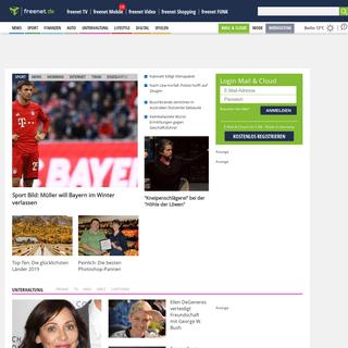 freenet.de - E-Mail, Cloud, Nachrichten & Services