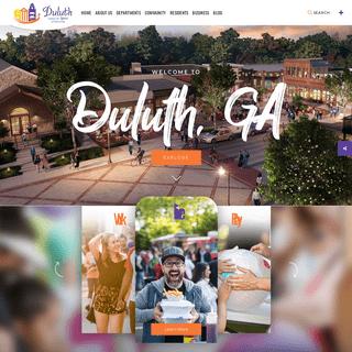 Welcome to Duluth, GA