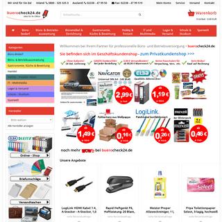 Büromaterial & Bürobedarf günstig online - Büromarkt buerocheck24.de