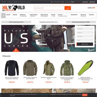 Sklep turystyczny, odzież i akcesoria MultiCam - Sklep militarny Milworld.pl