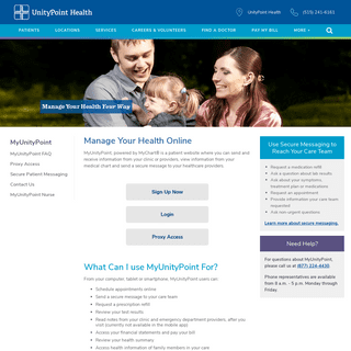 ArchiveBay.com - myunitypoint.org - MyUnityPoint - Online Health Information - UnityPoint Health
