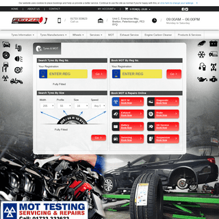 ArchiveBay.com - forzatyres.com - Cheap New Tyres Peterborough - Car Tyres Online - Forza Tyres