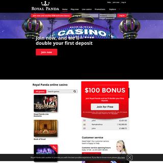 ArchiveBay.com - royalpanda.com - Royal Panda - Play Online Casino Games, Slots, Roulette, Blackjack