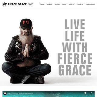 Fierce Grace NYC – The official website of Fierce Grace Yoga, New York City