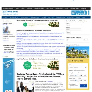 SA-News.com - Challenging News Headlines