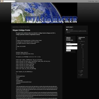 ...---Invasão Hacker---...