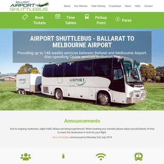 Home - Airport Shuttlebus