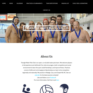 Triangle Water Polo Club – TWPC