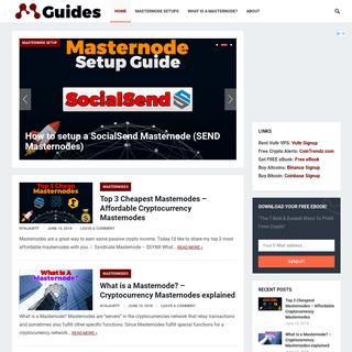 ArchiveBay.com - masternodeguides.com - MasterNodeGuides - Cryptocurrency Masternode Setups, Guides & more!