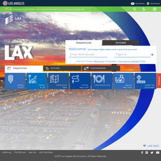 LAX Official Site - Welcome to Los Angeles International Airport