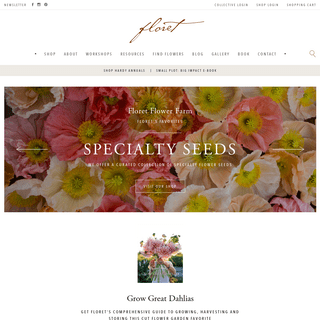 ArchiveBay.com - floretflowers.com - Floret Flowers - We are a small family farm in Washington's Skagit Valley