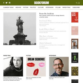 A complete backup of bookforum.com