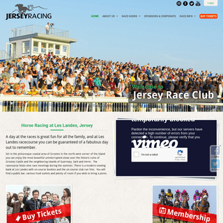 Jersey Race Club - Horse Racing at Les Landes