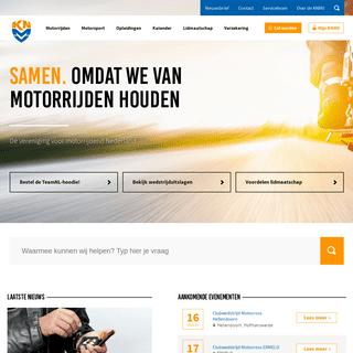KNMV - Dé vereniging voor motorrijdend Nederland