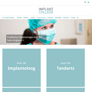 Implant College – cursussen en lezingen over implantologie
