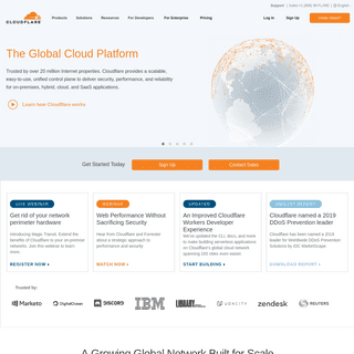 ArchiveBay.com - cloudflare.com - Cloudflare - The Web Performance & Security Company - Cloudflare