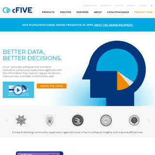 ArchiveBay.com - cfive.com - Software Solutions for Community Supervision and Probation - cFive