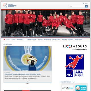 Home- FLH - Letzebuerger Handballfederatioun