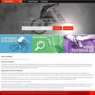 Buscador y comparador de productos para bicicletas - CoreBicycle