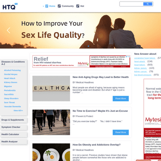 When Doctor Isn't Available, Ask HTQ - HTQ
