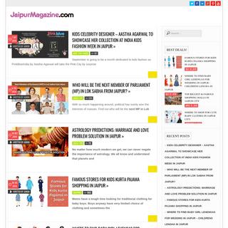 Meet the Locals- Jaipur Magazine in English