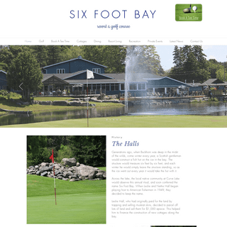 Six Foot Bay Resort & Golf - Ontario