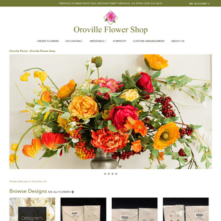 Oroville Florist - Flower Delivery by Oroville Flower Shop