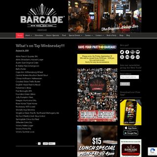 Barcade® - New York, New York - Barcade® - The Original Arcade Bar — New York, New York