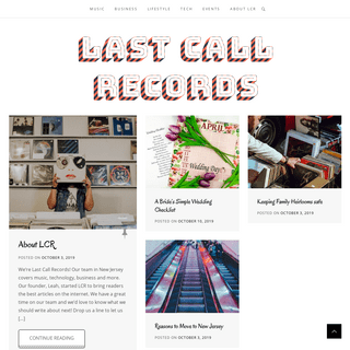 Last Call Records – Music + Tech + Business