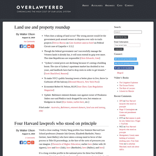 ArchiveBay.com - overlawyered.com - Overlawyered - Chronicling The High Cost Of Our Legal System