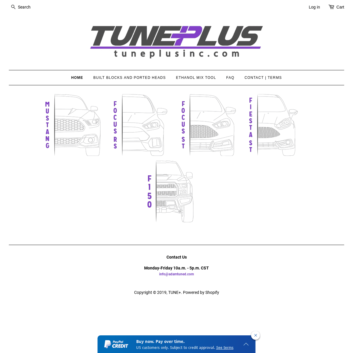 TUNE+ Performance Consulting and Calibrations
