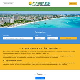 A1 Apartments Aruba - Oranjestad - Aruba
