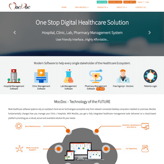Best Hospital Management Solution, Lab Management Solution and Clinic - Pharmacy Software