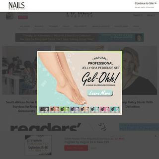 NAILS Magazine - Nail Salon Techniques, Nail Art, Business Tips