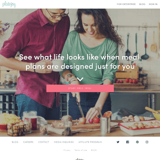 Custom Meal Plans & Meal Planning Recipes - PlateJoy