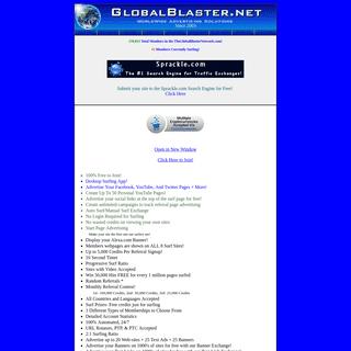 GlobalBlaster.net- WorldWide Business Solutions for Tomorrow!