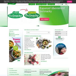 Frische Pflanzen, bessere Heil- und Lebensmittel - A.Vogel