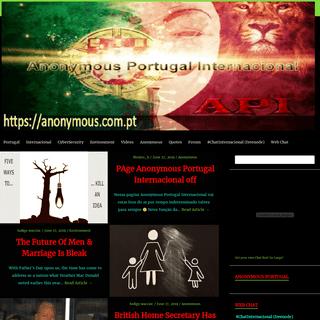 Anonymous Portugal Internacional – Anonymous