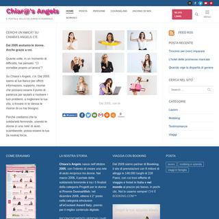 Chiara's Angels – Il portale della solidarietà femminile
