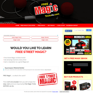 ArchiveBay.com - freemagictricks4u.com - Learn Free Street Magic Tricks for Beginner & Professional Magicians