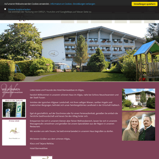 ArchiveBay.com - bannwaldseehotel.de - Hotel Bannwaldsee- Home