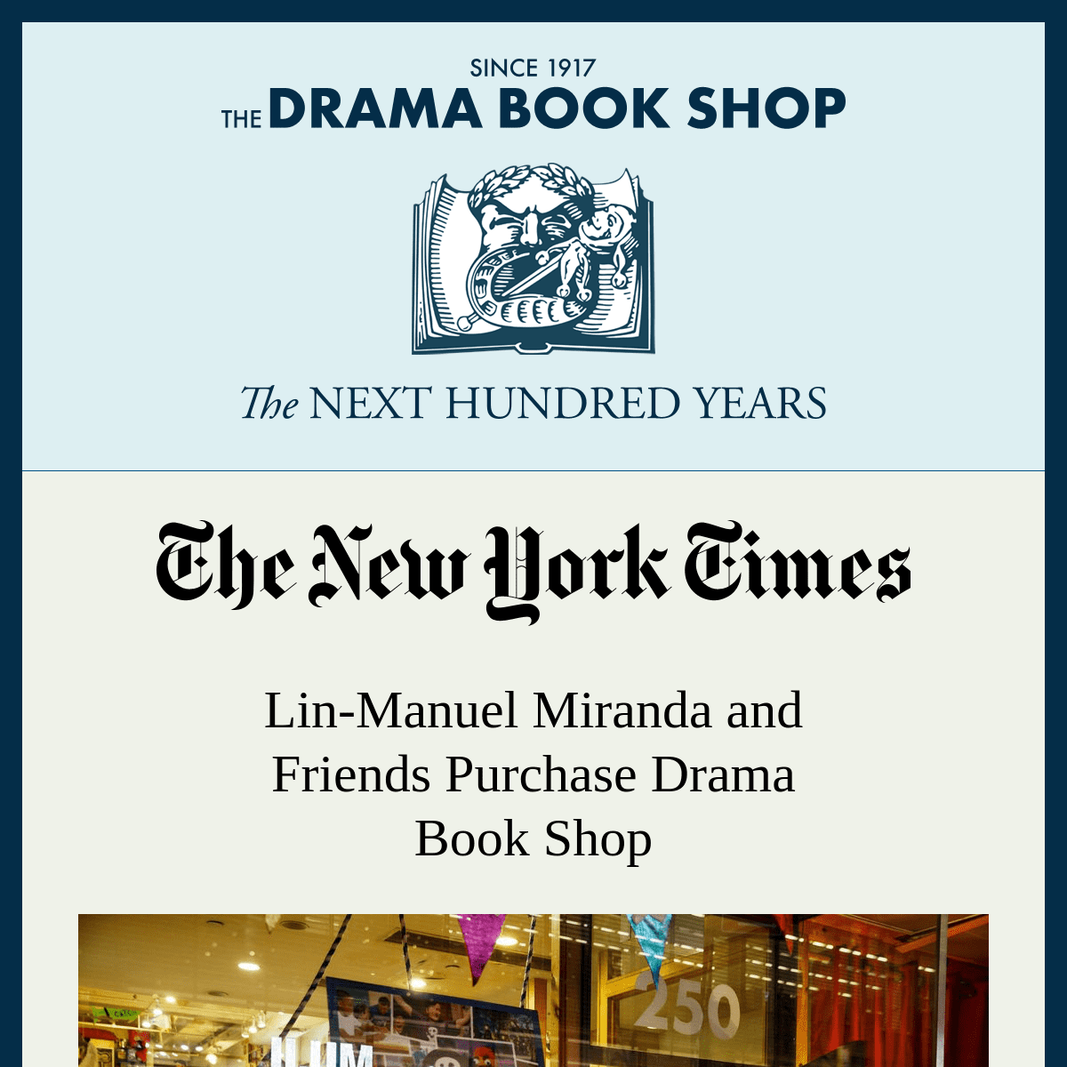 The Drama Book Shop - Coming Soon
