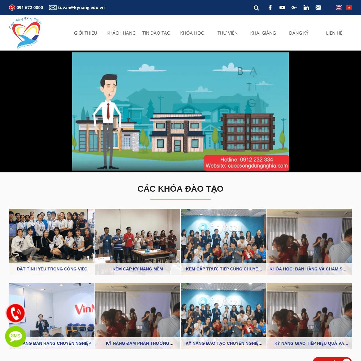 ArchiveBay.com - kynang.edu.vn - Trung Tâm Tư Vấn Và Đào Tạo Cuộc Sống Đúng Nghĩa