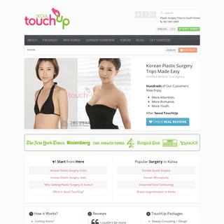 Seoul TouchUp - Korean Plastic Surgery Clinics + Trips