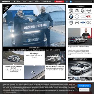 Auto Journal - Essais de voitures, voiture neuve - tous les plaisirs de l'automobile