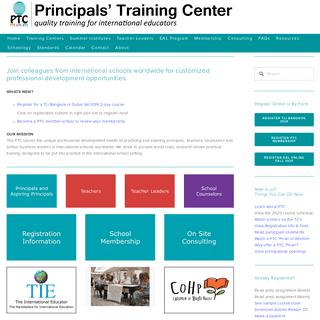 Principals' Training Center