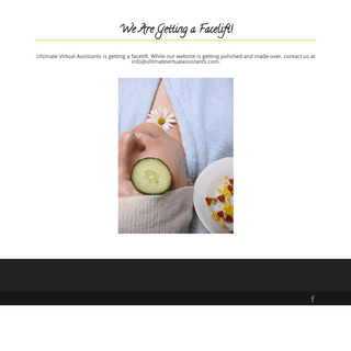 We are getting a facelift! -